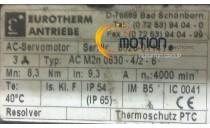 MOTEUR EUROTHERM ANTRIEBE AC M2n 0830 - 4/2 - 6