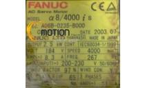 MOTEUR FANUC A06B-0235-B000