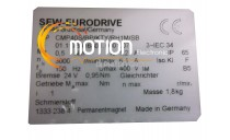 MOTEUR SEW EURODRIVE CMP40S/BP/KTY/RH1M/SB